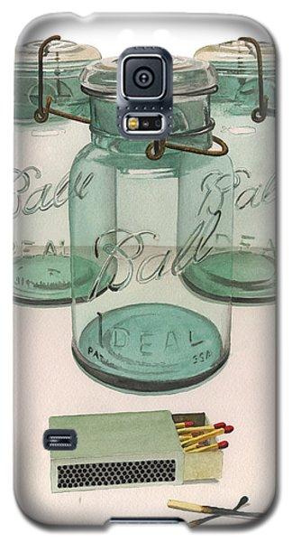 Full Count 3 Balls 2 Strikes Galaxy S5 Case by Ferrel Cordle