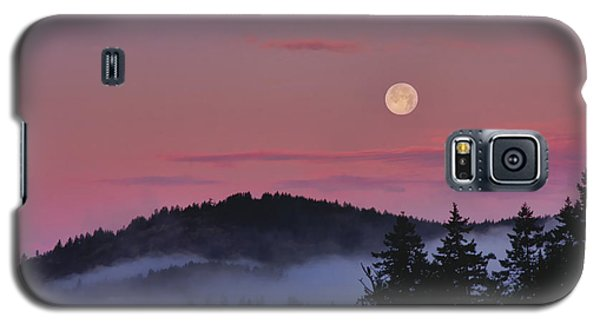 Full Moon At Dawn Galaxy S5 Case by Peggy Collins