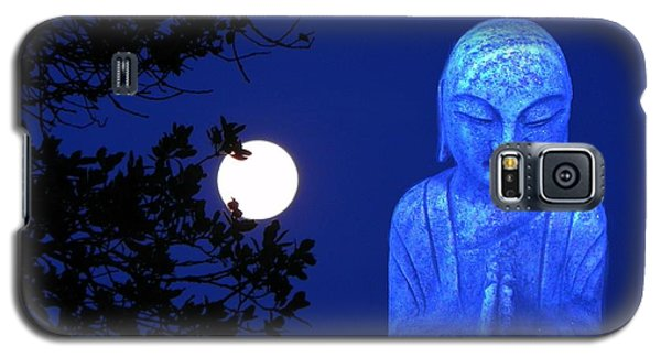 Full Moon Buddha Galaxy S5 Case