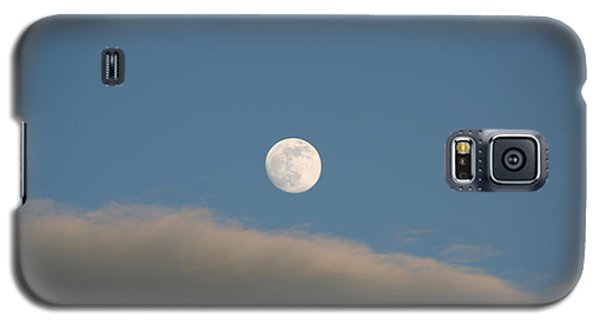 Galaxy S5 Case featuring the photograph Full Moon by David S Reynolds