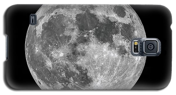 Galaxy S5 Case featuring the photograph Full Moon by Dennis Bucklin