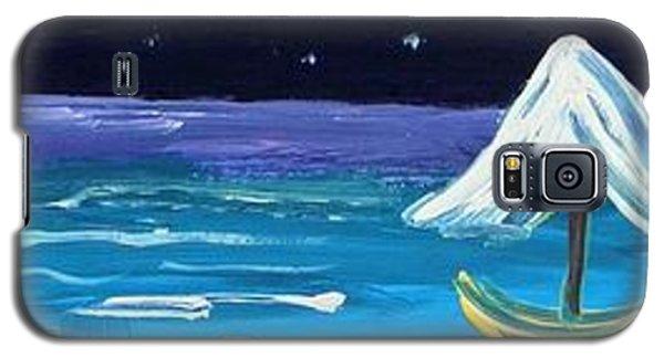 Full Moon Full Sail Galaxy S5 Case by Mary Carol Williams