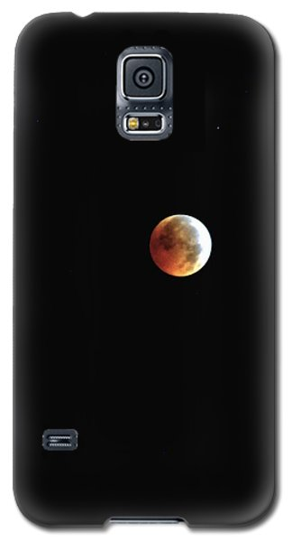 Galaxy S5 Case featuring the photograph Full Moon Lunar Eclipse by Kelly Nowak