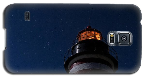 Full Moon On Quoddy Galaxy S5 Case by Marty Saccone