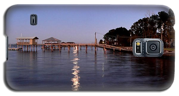 Full Moon On The Bay Galaxy S5 Case
