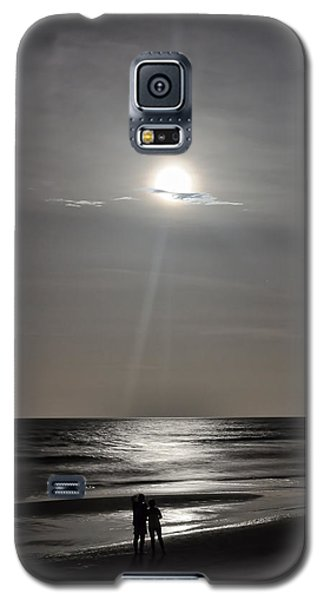 Full Moon Over Daytona Beach Galaxy S5 Case