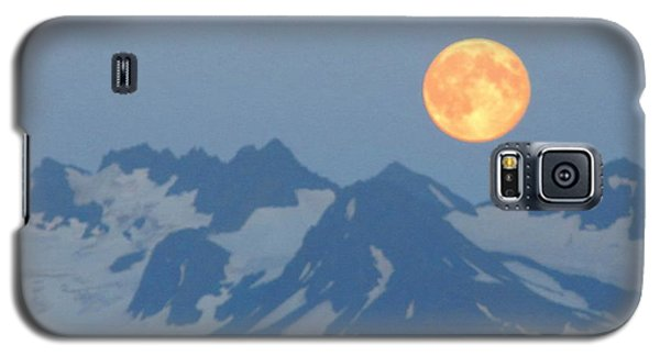 Full Moon Over Homer Galaxy S5 Case