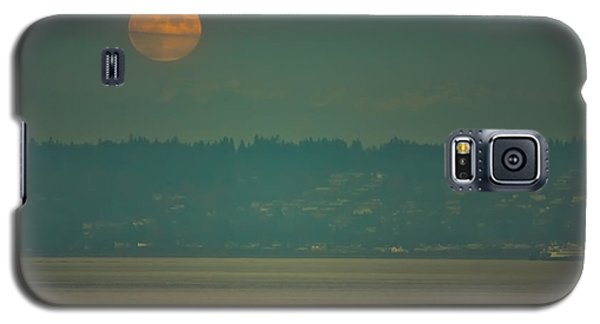Full Moon Rises Galaxy S5 Case