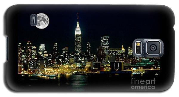 Full Moon Rising - New York City Galaxy S5 Case