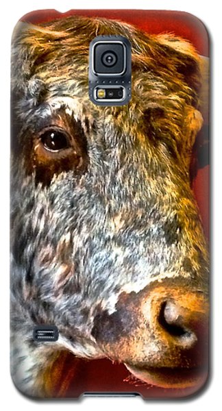 Galaxy S5 Case featuring the photograph Full Of Bull by Dee Dee  Whittle