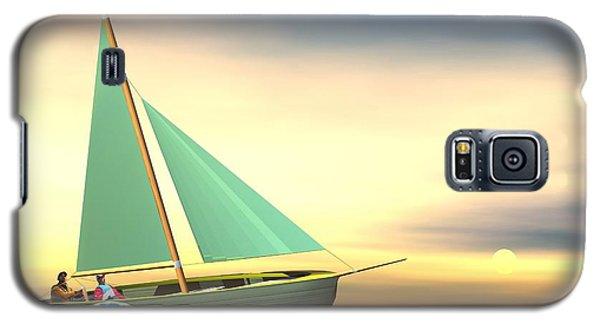 Full Sail Galaxy S5 Case by John Pangia