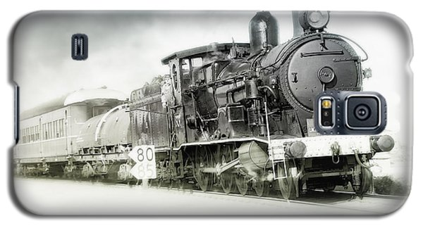Galaxy S5 Case featuring the photograph Full Steam Ahead by Kevin Chippindall
