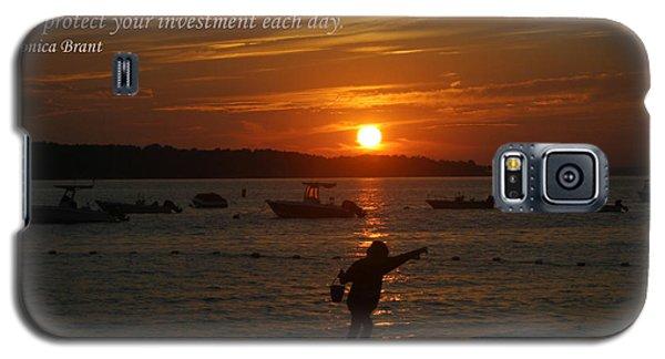 Fun At Sunset/ Inspirational Galaxy S5 Case by Karen Silvestri