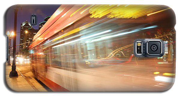Fun At The Bus Stop Galaxy S5 Case by Nathan Rupert