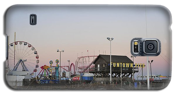Fun At The Shore Seaside Park New Jersey Galaxy S5 Case
