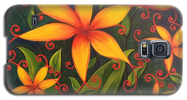 Fun Flowers Galaxy S5 Case