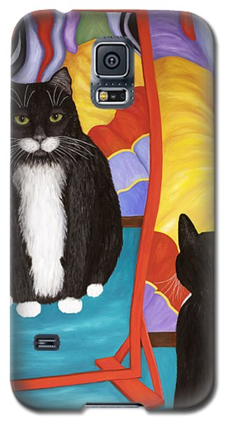 Fun House Fat Cat Galaxy S5 Case