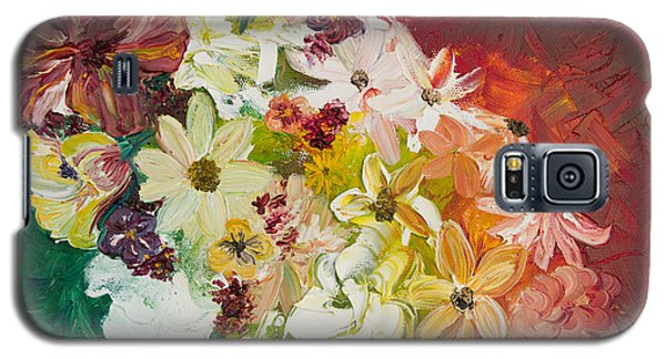 Fun With Flowers Galaxy S5 Case