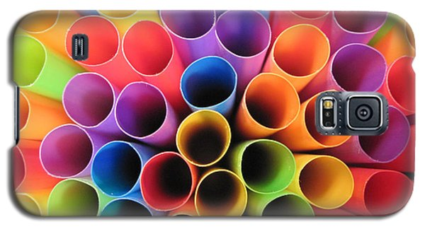 Fun With Straws Galaxy S5 Case by Mary Bedy