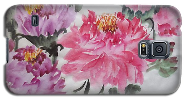 Galaxy S5 Case featuring the painting Fun030914-529 by Dongling Sun
