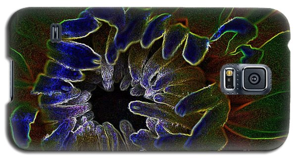 Galaxy S5 Case featuring the photograph Funky Flower by Judy Wolinsky