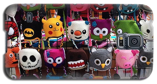 Funny Hats On The Street Galaxy S5 Case