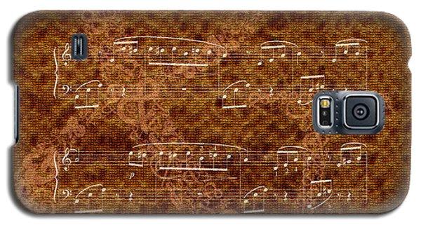 Fur Elise Music 2 Digital Painting Galaxy S5 Case by Georgeta Blanaru