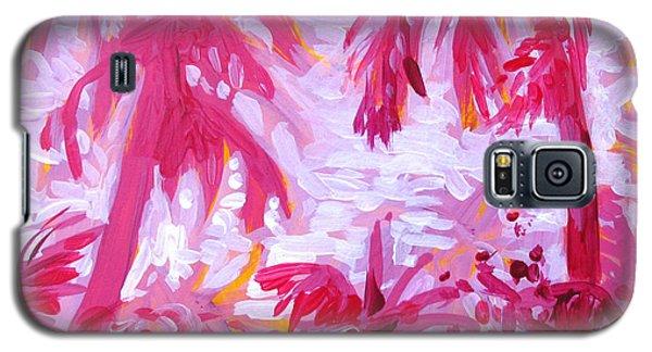 Fuschia Landscape Galaxy S5 Case