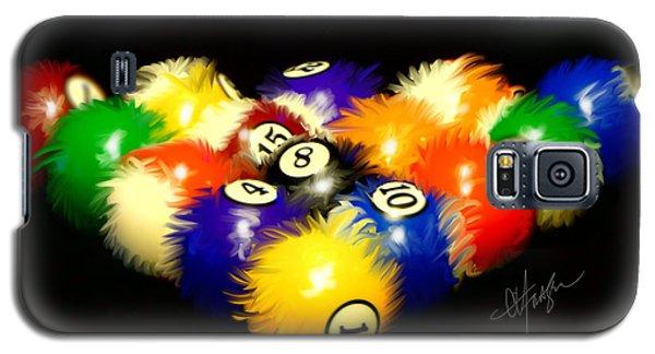 Fuzzy Billiards Galaxy S5 Case