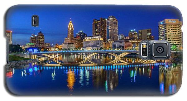 Fx2l530 Columbus Ohio Night Skyline Photo Galaxy S5 Case