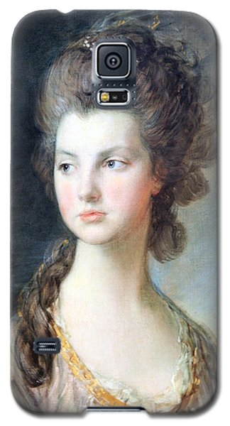 Gainsborough's The Hon. Mrs. Thomas Graham Up Close Galaxy S5 Case