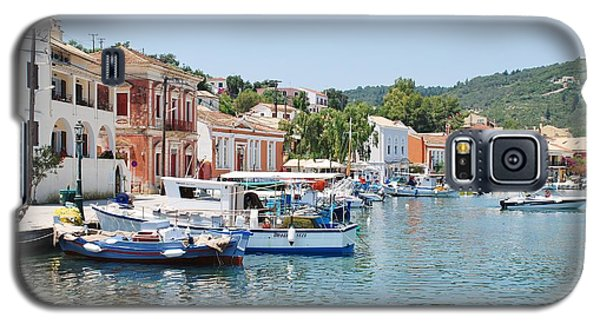 Gaios Harbour On Paxos Galaxy S5 Case