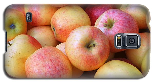 Galaxy S5 Case featuring the photograph Gala Apples by Joseph Skompski
