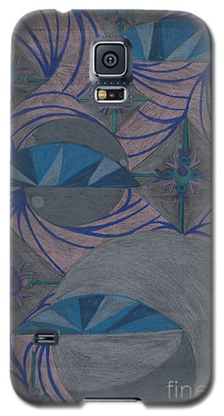 Galaxy S5 Case featuring the drawing Galactic by Kim Sy Ok