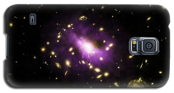 Galaxy Cluster Rx J1532 Galaxy S5 Case by Nasa/cxc/stanford/j.hlavacek-larrondo Et Al/esa/stsci/m.postman And Clash Team
