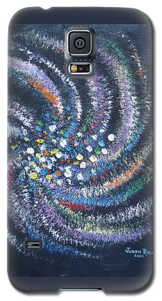 Galaxy Swirl Galaxy S5 Case by Judith Rhue