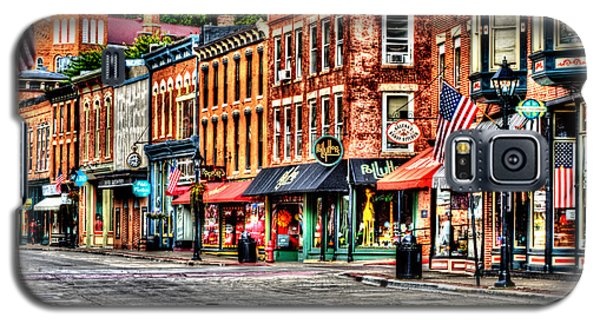 Galena Main Street Early Summer Morning Galaxy S5 Case