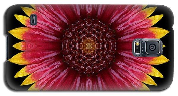 Galliardia Arizona Sun Flower Mandala Galaxy S5 Case by David J Bookbinder