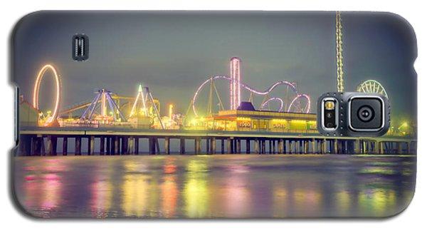 Galveston Pier Colors Galaxy S5 Case by Ray Devlin