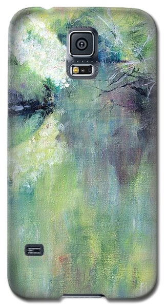 Galaxy S5 Case featuring the painting Gamble Creek by Mary Lynne Powers