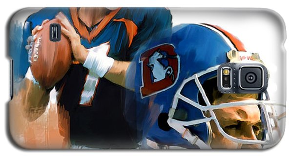 Game Elway  John Elway Galaxy S5 Case by Iconic Images Art Gallery David Pucciarelli