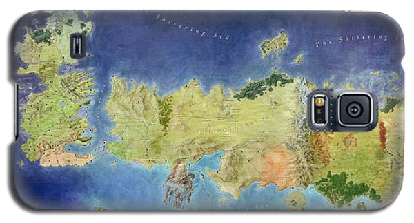 Game Of Thrones World Map Galaxy S5 Case