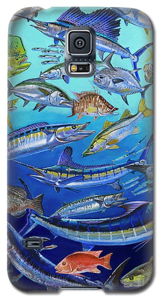 Gamefish Collage In0031 Galaxy S5 Case by Carey Chen