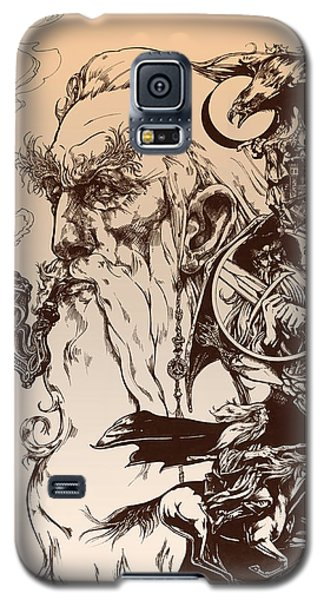 Wizard Galaxy S5 Case - gandalf- Tolkien appreciation by Derrick Higgins