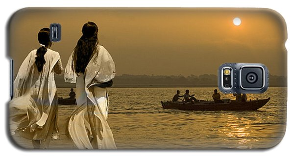 Ganges Every Day Galaxy S5 Case by Angelika Drake