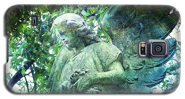 Garden Angel - Divine Messenger Galaxy S5 Case by Absinthe Art By Michelle LeAnn Scott