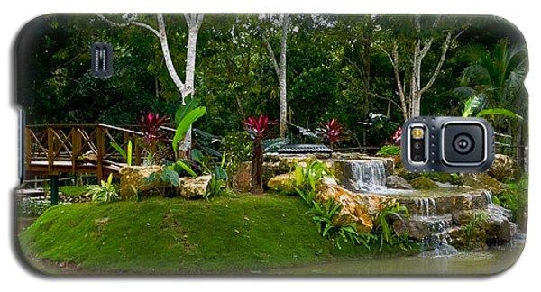 Garden At Good Hope Jamaica Galaxy S5 Case