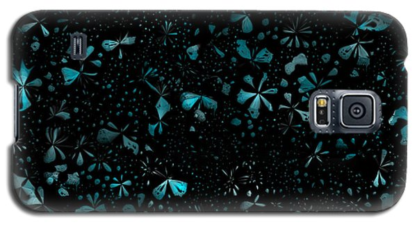 Galaxy S5 Case featuring the digital art Garden At Night by Shabnam Nassir