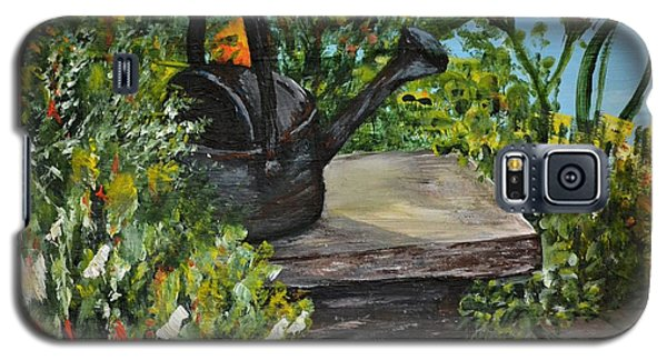 Garden Bench Galaxy S5 Case