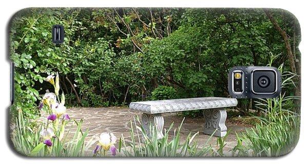 Garden Bench Galaxy S5 Case by Pema Hou